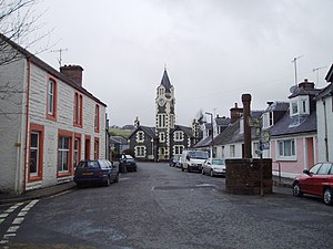 Moniaive Main Street - geograph.org.uk - 152050.jpg