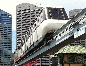 Sydney Monorail - Rolling stock