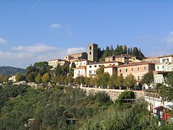 Skyline of Montecatini Terme