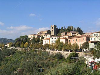 Montecatini Terme - Image: Montecatini Alto