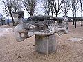 Montereau-Fault-Yonne - Surville - Esplanade François Mitterand - Sculpture.jpg