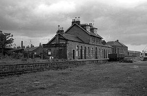 Montrose and Bervie Railway - Ex Caledonian Railway Montrose station in 1960