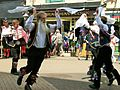 Morris dancing outside the Gerneral Havelock, Hastings.JPG