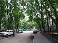 Moscow, driveway in Marshala Rokossovskogo - Ivanteevskaya Street superblock.jpg