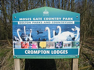Moses Gate Country Park - Image: Moses gate 001