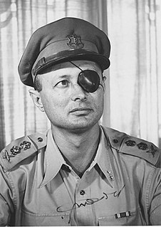 Moshe Dayan Israeli military leader and politician