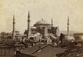 Mosquée de Ste Sophie - Colonel Ali Riza, opérateur en chef de la Photographie de l'État Major. LCCN2004672865-high (cropped).png