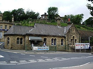 Mossley railway station
