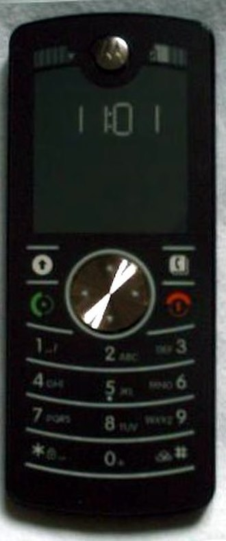 Electronic paper - The Motorola F3 uses an e-paper display instead of an LCD.