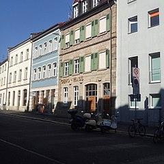 Motorradparkplatz Schweinfurt Manggasse 20