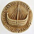 Moulage du sceau des marchands de l'eau de Paris. 1 - Archives Nationales - SC-D5582.jpg