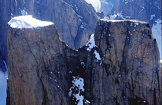 Auyuittuq National Park - Image: Mount Asgard 3 2001 07 25