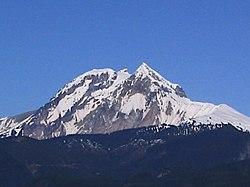 Mount Garibaldi as seen from Squamish