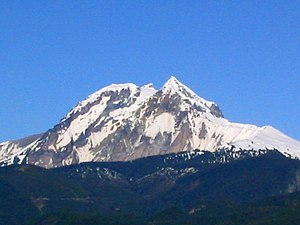 Geography of Canada - Mount Garibaldi as seen from Squamish