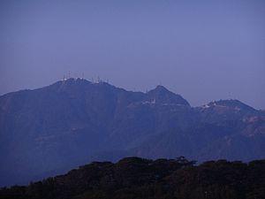 Mount Santo Tomas - Image: Mount Santo Tomas