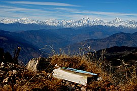 Mountain view from Jiri, Nepal