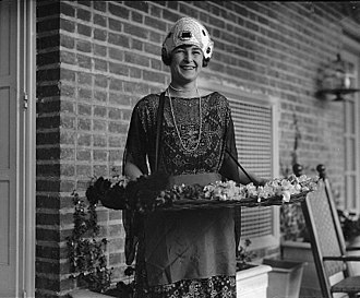 Isabel Pell - Isabel Pell's mother, April 10, 1923, Gift of Herbert A. French, 1947, National Photo Company Collection (Library of Congress) Repository