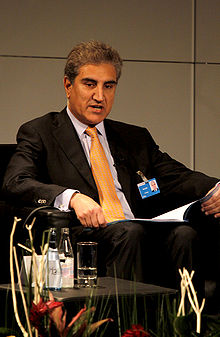Shah Mehmood Qureshi en 2009.