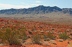 Muddy Mountains - Image: Muddy Mountains, Nevada