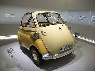 Isetta - 1955 BMW Isetta 250, BMW Museum, Munich, Germany