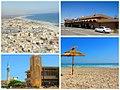 Multiple photos of the Coastal city of Zuwarah.jpg