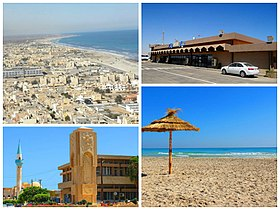 Multiple photos of the Coastal city of Zuwarah.jpg