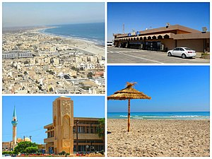 Zuwarah - Image: Multiple photos of the Coastal city of Zuwarah