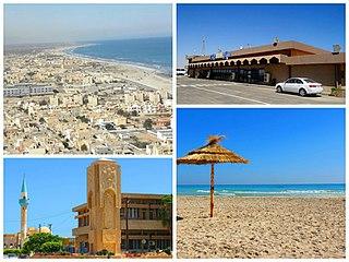 Zuwarah City in Tripolitania, Libya