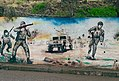 Mural in Akre of Peshmerga soldiers.jpg