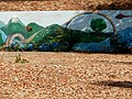Mural on the site of Bilsborrow Primary School (now demolished) in Moss Side, Manchester - panoramio.jpg
