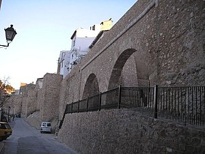 Segorbe - The wall of Segorbe.