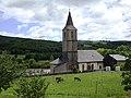 Murat-sur-Vèbre (Tarn, Fr) église Saint-Etienne et pré aux ânes.JPG