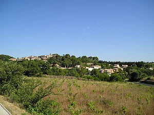 Murviel-lès-Montpellier - A general view of Murviel-lès-Montpellier