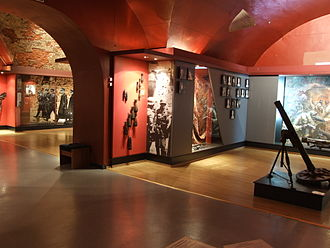 Fort Montbarey - Image: Museum of the defense of Brest fortress 6th room