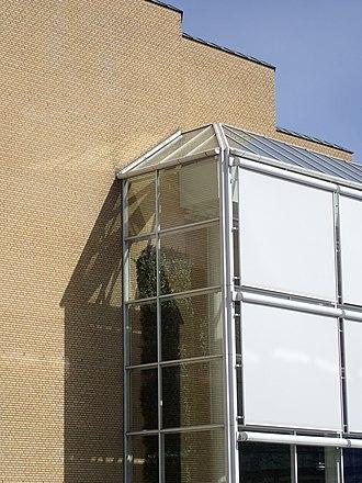 Musikhuset Aarhus - Image: Musikhuset (detalje) 03