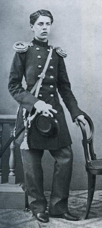 Modest Mussorgsky - Young Mussorgsky as a cadet in the Preobrazhensky Regiment of the Imperial Guard.