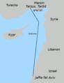 Námořní cesta Jaffa - Taršíš, Tarsus.png