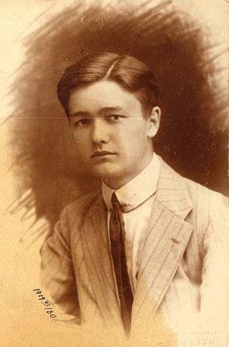 László Németh - László Németh in 1919