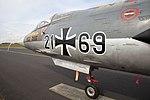 Nörvenich Air Base Lockheed F-104G Starfighter Luftwaffe 21+69 (44418968651).jpg