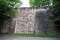 Nürnberg, Stadtbefestigung, Spittlertormauer, innere Futtermauer 20170616 001.jpg