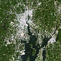 NASA Satellite Captures Super Bowl Cities - Pawtucket and Foxborough (6813846675).jpg