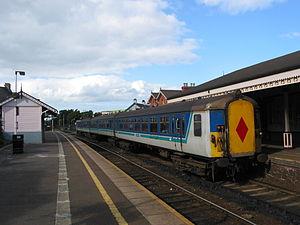 Whitehead railway station - NIR 8068 at Whitehead