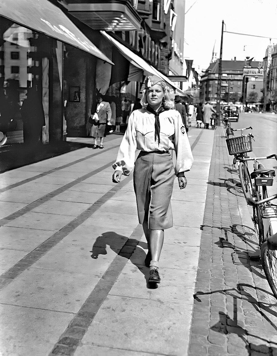 NSU girl , 1941