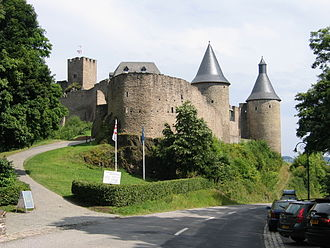 Bourscheid, Luxembourg - Bourscheid Castle