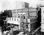 N 53 6268 Old Post Office Bldg During Addition of Rear, Raleigh, NC Aug 28, 1937 (14887709532).jpg