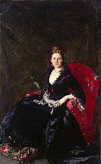 Portrait of Nadezhda Polovtsova