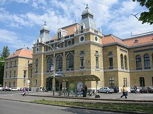 Cegléd–Szeged railway - Image: Nagyállomás Szeged