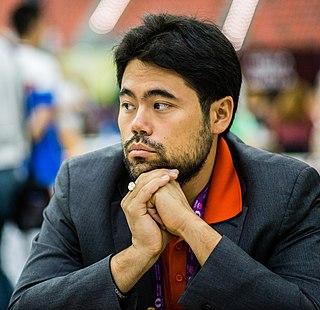 Hikaru Nakamura Japanese American chess player