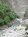 Nanzihsian River through the canyon.jpg