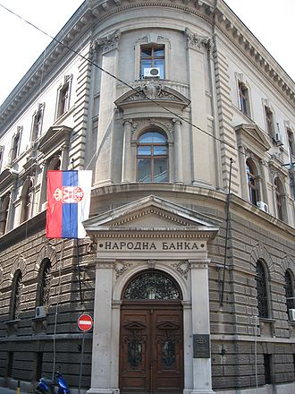 National Bank of Serbia - Old headquarters of the NBS, Kralja Petra 12, Belgrade
